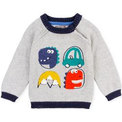Oblečenie Deti Svetre Losan 027-5004AL Šedá