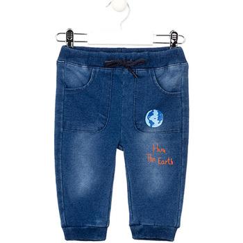 Oblečenie Dievčatá Rifle Slim  Losan 027-6017AL Modrá