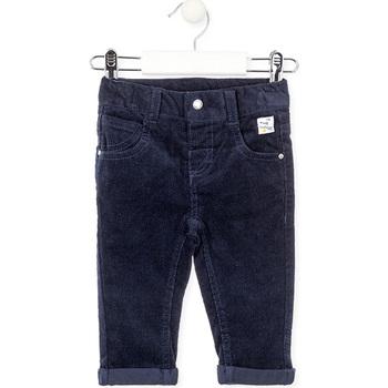 Oblečenie Deti Nohavice päťvreckové Losan 027-9001AL Modrá