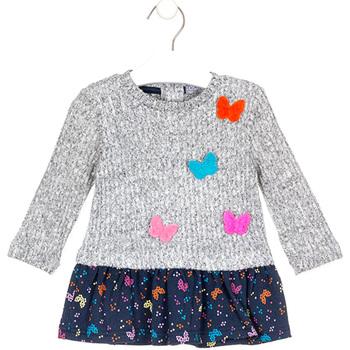Oblečenie Dievčatá Krátke šaty Losan 028-7015AL Šedá