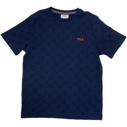 Oblečenie Chlapci Tričká s krátkym rukávom Fila 688084 Modrá