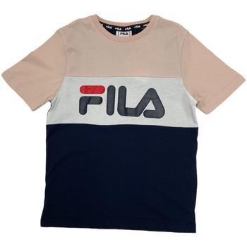 Oblečenie Deti Tričká s krátkym rukávom Fila 688141 Ružová