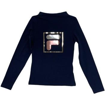 Oblečenie Deti Tričká s dlhým rukávom Fila 688102 Modrá