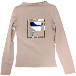 Oblečenie Deti Tričká s dlhým rukávom Fila 688102 Béžová