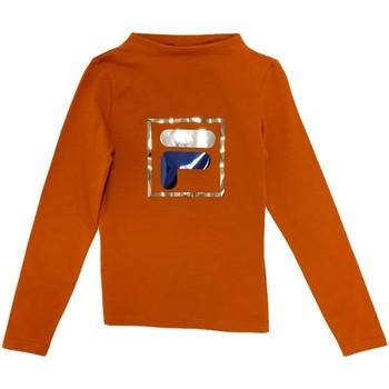 Oblečenie Deti Tričká s dlhým rukávom Fila 688102 Oranžová