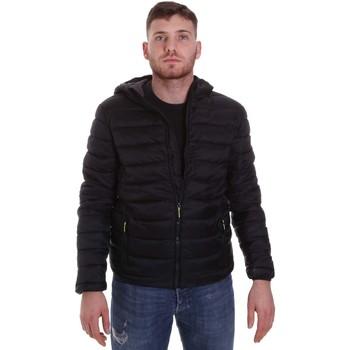 Oblečenie Muži Vyteplené bundy Lumberjack CM95222 001 416 čierna