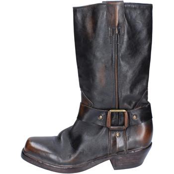 Topánky Ženy Čižmy Moma BJ183 Hnedá