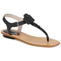 Topánky Ženy Sandále Marc Jacobs CHIC CALF Čierna