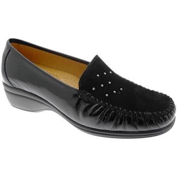 Topánky Ženy Mokasíny Calzaturificio Loren LOK4020ne nero
