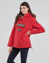 Oblečenie Ženy Parky Napapijri RAINFOREST WINTER Červená