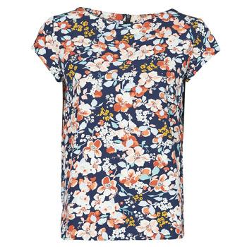 Oblečenie Ženy Blúzky Betty London OMISS Námornícka modrá / Ružová
