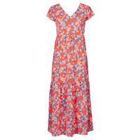 Oblečenie Ženy Dlhé šaty Betty London ODE Červená / Viacfarebná