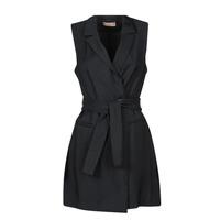 Oblečenie Ženy Krátke šaty Moony Mood OLALA Čierna
