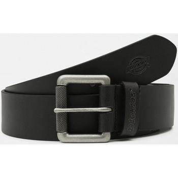 Textilné doplnky Muži Opasky Dickies South shore leather belt Čierna
