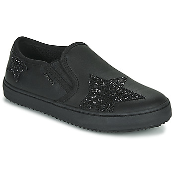 Topánky Dievčatá Nízke tenisky Geox J KALISPERA FILLE Čierna