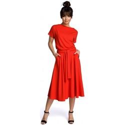 Oblečenie Ženy Krátke šaty Be B067 Roztiahnuté šaty - červené