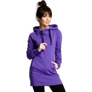 Oblečenie Ženy Mikiny Be B072 Dlhý pulóver - fialový