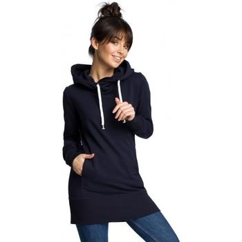 Oblečenie Ženy Mikiny Be B072 Dlhý pulóver - tmavomodrý
