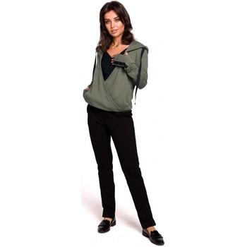 Oblečenie Ženy Mikiny Be B127 Pulóver s kapucňou - khaki