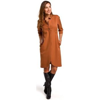 Oblečenie Ženy Šaty Style S189 Blejzrové šaty - ryšavé