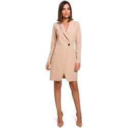 Oblečenie Ženy Šaty Style S217 Blejzrové šaty - béžové