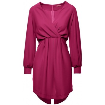 Oblečenie Ženy Krátke šaty Makover K044 Prestrihnuté šaty - slivka