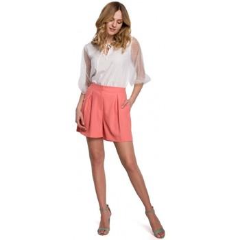 Oblečenie Ženy Šortky a bermudy Makover K049 Uvoľnené šortky - oranžové