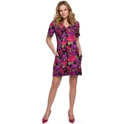 Oblečenie Ženy Krátke šaty Makover K052 Šaty s potlačou - model 2