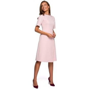 Oblečenie Ženy Krátke šaty Style S241 Jednodielny overal s dvojitou prednou časťou - čierny