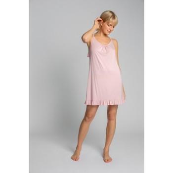 Oblečenie Ženy Pyžamá a nočné košele Lalupa LA031 Viskózová košieľka - ružová