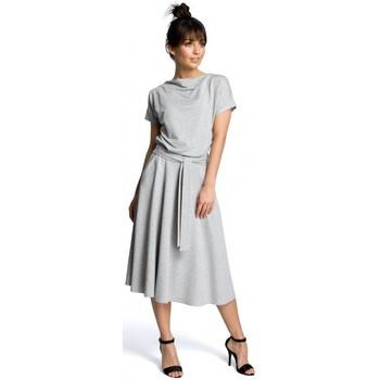 Oblečenie Ženy Krátke šaty Be B067 Roztiahnuté šaty - sivé