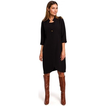 Oblečenie Ženy Krátke šaty Style S189 Blejzrové šaty - čierne
