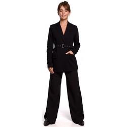 Oblečenie Ženy Oblekové saká Be B159 Blejzer s prackou - hnedý