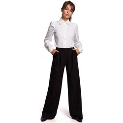 Oblečenie Ženy Nohavice Be B164 Široké nohavice - čierne