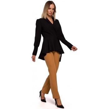 Oblečenie Ženy Saká a blejzre Moe M529 Sako do fraku - čierne