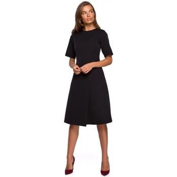Oblečenie Ženy Krátke šaty Style S240 Zavinovacie šaty - červené