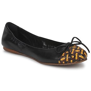 Topánky Ženy Balerínky a babies Stéphane Kelian WALLY čierna / žltá