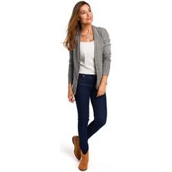 Oblečenie Ženy Blúzky Style S198 Sveter s cvočkami - sivý