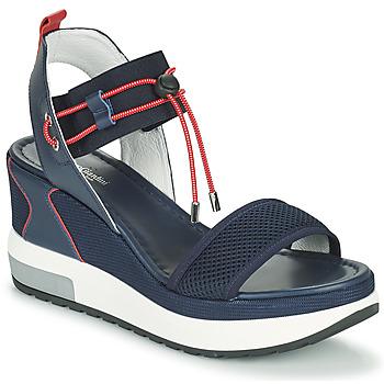 Topánky Ženy Sandále NeroGiardini CAMINO Námornícka modrá / Červená