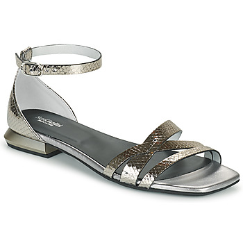 Topánky Ženy Sandále NeroGiardini TOMMA Strieborná