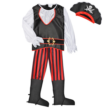 Oblečenie Chlapci Kostýmy Fun Costumes COSTUME ENFANT PIRATE TOM Viacfarebná