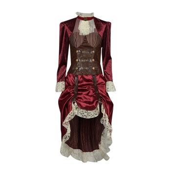 Oblečenie Ženy Kostýmy Fun Costumes COSTUME ADULTE LADY STEAMPUNK Viacfarebná