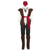 Oblečenie Muži Kostýmy Fun Costumes COSTUME ADULTE PIRATE THUNDER Viacfarebná