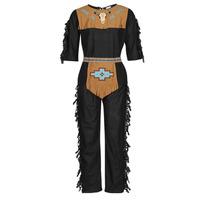 Oblečenie Muži Kostýmy Fun Costumes COSTUME ADULTE INDIENNE SHE-WOLF Viacfarebná