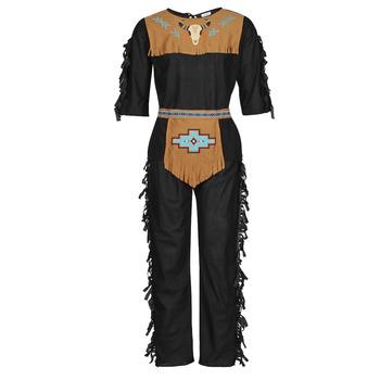 Oblečenie Muži Kostýmy Fun Costumes COSTUME ADULTE INDIEN NOBLE WOLF Viacfarebná