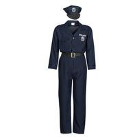 Oblečenie Muži Kostýmy Fun Costumes COSTUME ADULTE OFFICIER DE POLICE Viacfarebná