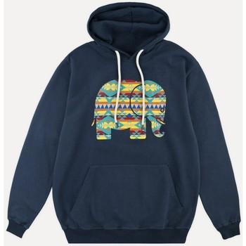 Oblečenie Muži Mikiny Trendsplant SUDADERA CAPUCHA  029010MNAH Modrá