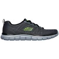Topánky Muži Nízke tenisky Skechers Track Moulton 232081 Šedá