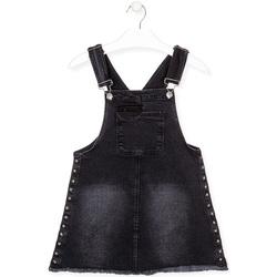 Oblečenie Dievčatá Módne overaly Losan 024-7000AL čierna