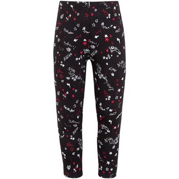Oblečenie Dievčatá Legíny Losan 026-6000AL čierna